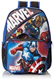 Fast Forward Little Boys' Marvel Heroes Backpack with Lunch Box