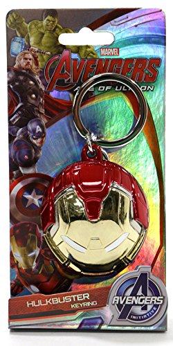 Marvel(マーベル) Avengers: Age of Ultron(アベンジャーズ2/エイジ・オブ・ウルトロン) Iron Man(アイアンマン) ハルクバスター/ヘッド/カラー メタルキーホルダー [並行輸入品]