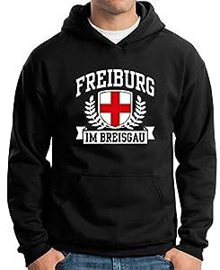 T-Shirtshock - Sweatshirt Hoodie TSTEM0168 freiburg im breisgau