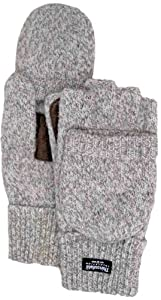Boss 246LL Large Ragg Wool Half Finger Thinsulate Gloves with Mitt Flap (Discontinued by Manufacturer)