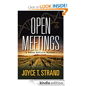 Open Meetings: A Jillian Hillcrest Mystery