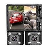 Lookeast 2つのカメラで前方と車内を360°撮影 デュアルレンズドライブレコーダー LE-DCR02 LE-DCR02