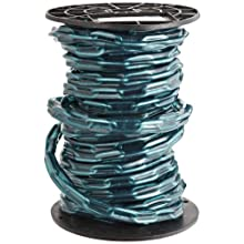 "Campbell PS0332027 Low Carbon Steel Straight Link Coil Chain in Reel with Green Sleeve, 2/0 Trade, 0.19"" Diameter, 60' Length, 520 lbs Load Capacity"