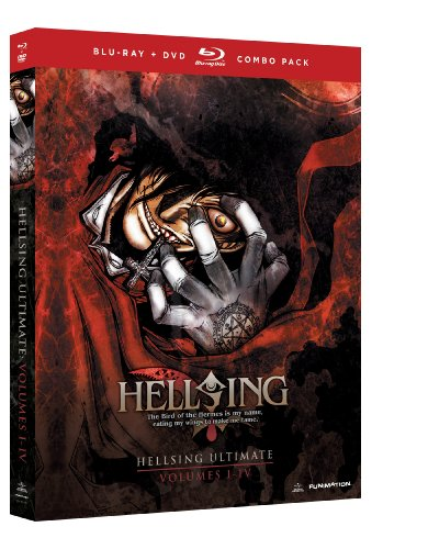 Hellsing Ultimate: Volumes 1-4 Collection Blu-ray/DVD Combo (OVA版ヘルシング DVD & BD-BOX1 北米版)