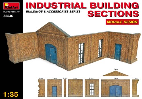 1/35 Industrial Building Section, Module Design