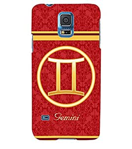ColourCraft Zodiac Gemini Back Case Cover for SAMSUNG GALAXY S5 NEO