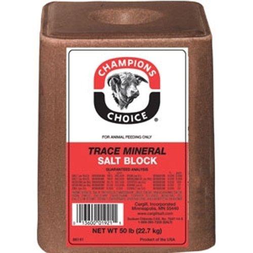 Redmond Trace Mineral Salt Block Feed Mineral Supplement For Livestocks 44lbs (Livestock Salt Blocks compare prices)