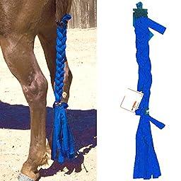Intrepid International Tailwrap Techquine Tail Braid, Medium, Navy