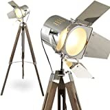 MOJO® Stehleuchte Tripod Lampe Dreifuss Urban Design höhenverstellbar mq-l37