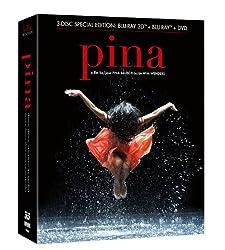 Pina (DVD, Blu-ray, 3D Blu-ray Combo Pack)