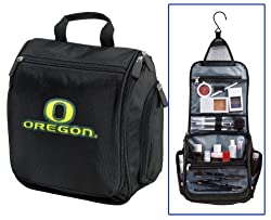 University of Oregon Cosmetic Bag or NCAA Mens Shaving Kit - Travel Bag UO Ducks