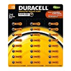 Duracell Duralock 24pk Hearing Aid Device Battery 1.4v Zinc Size 13