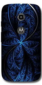 SEI HEI KI Designer Back Cover For Motorola Moto E2 - Multicolor