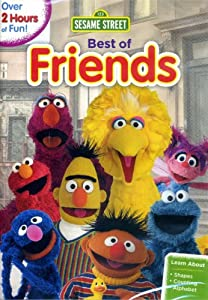 Sesame Street Best of Friends DVD - Over 2 Hours of Fun Including C is For Cookie, Sing with Bert and Ernie, Grover as Spider-Monster
