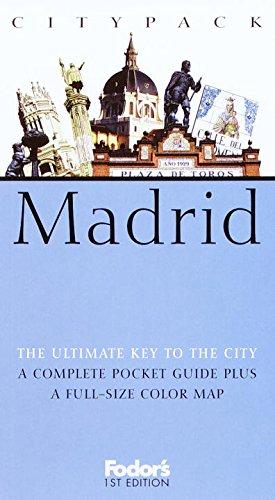 Fodor's Citypack Madrid, 1st Edition (Citypacks), Fodor's