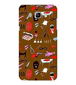 EPICCASE criminal Mobile Back Case Cover For Samsung J5 2016 (Designer Case)