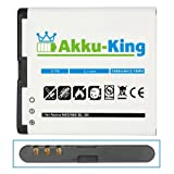 Akku-King Battery for Nokia N85 / N86 8MP / X7-00 / C7-00 / 701 / Oro - Li-Ion replaces BL-5K