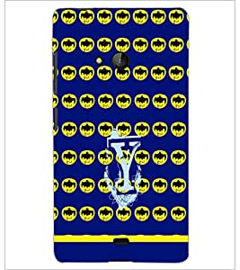 PrintDhaba Bat Pattern D-1258 Back Case Cover for MICROSOFT LUMIA 540 (Multi-Coloured)