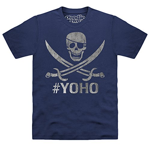 Goodie Two Sleeves Yoho T-shirt, Uomo, Blu navy, 4XL