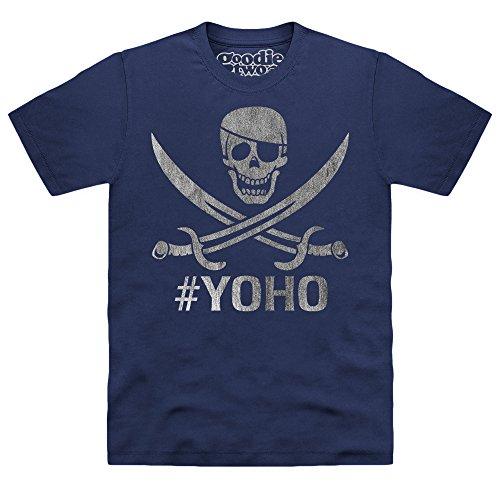 Goodie Two Sleeves Yoho T-shirt, Uomo, Blu navy, 4XL