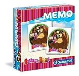 Clementoni - Memo Masha y el Oso, juego educativo (133161)