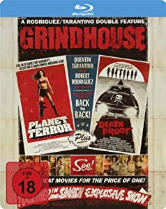 Grindhouse (Steelbook) [Blu-ray]