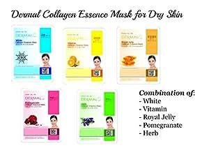 Dermal Korea Dermal Collagen Essence Face Mask for Dry Skin