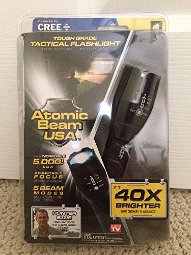 Atomic Beam USA Tough Grade Tactical Flashlight As Seen On TV (Single) (Mazda Cx9 Battery compare prices)