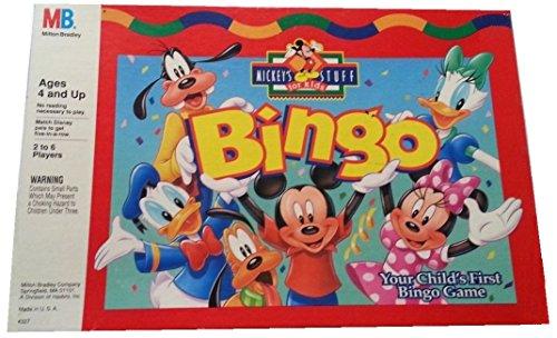 Disney Mickey's Stuff for Kids Bingo; Your Child's First Bingo Game - 1