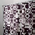 InterDesign Mod Shower Curtain - Black