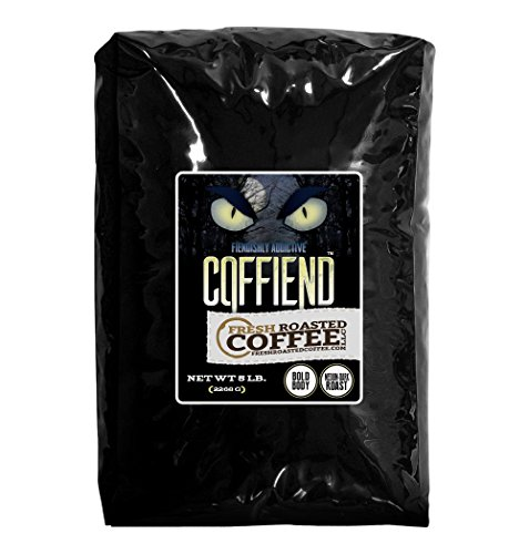 Coffiend Artisan Blend Coffee, Whole Bean, Fresh Roasted Coffee LLC. (5 lb.) (Fresh Roasted Coffee Llc 5lb compare prices)