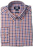 Cutter & Buck Men's Long Sleeve Parksville Plaid Woven Shirt