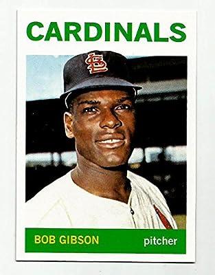 Bob Gibson St. Louis Cardinals 1964 Topps Reprint Card