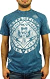 Affliction Fortunate Son Mens Reversible T-Shirt XXL Blue