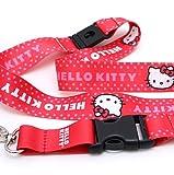Licensed Hello Kitty Lanyard w/ Key Chain Clip
