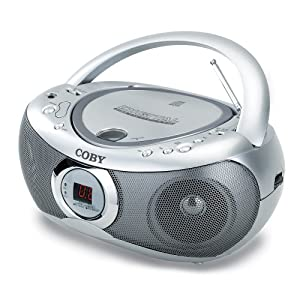 Coby CXCD236 CD Boombox with AM/FM