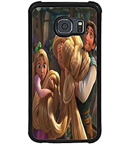 ColourCraft Cute Princess Design Back Case Cover for SAMSUNG GALAXY S6
