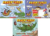 img - for Adventures in Cartooning Pack: Adventures in Cartooning, Adventures in Cartooning Activity Book, and Adventures in Cartooning: Christmas Special!. book / textbook / text book