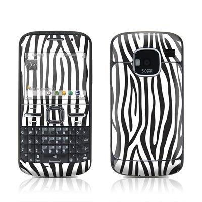 Zebra Stripes Design Protective Skin Decal Sticker for Nokia E5 Cell Phone