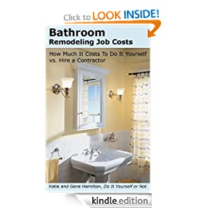 Bathroom Remodeling Job Costs
