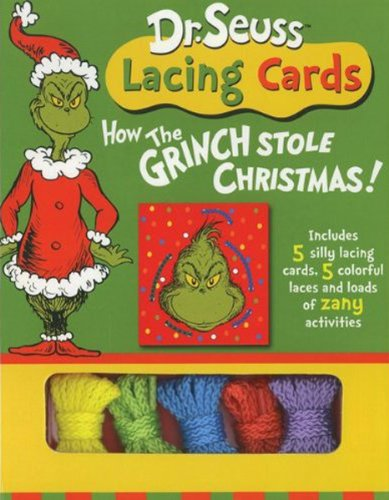 Dr. Seuss Lacing Cards: How the Grinch Stole Christmas (Dr. Seuss Novelty Se)