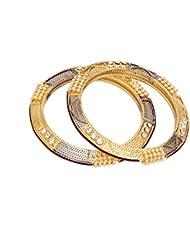 Antique Gold & Silver Bangle - B01JOZ3J40