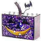 Purple Pumpkin Tea Light Candle Holder