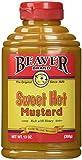 Beaver Sweet Hot Mustard - 13 oz. bottle