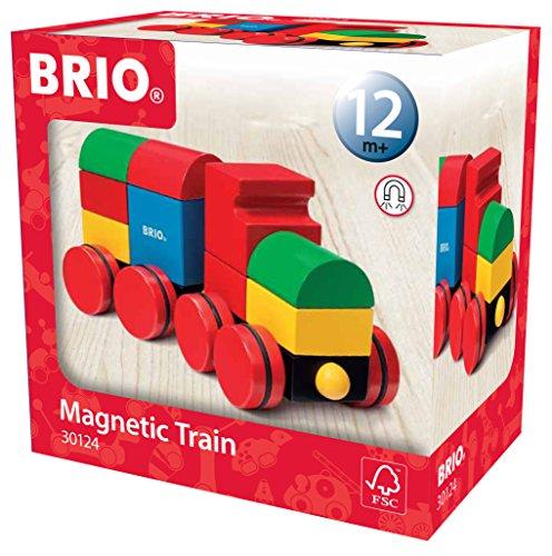 BRIO マグネット式スタッキングトレイン 30124