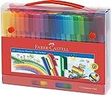 Faber-Castell 155560 Filzstift Connector in Koffer,...