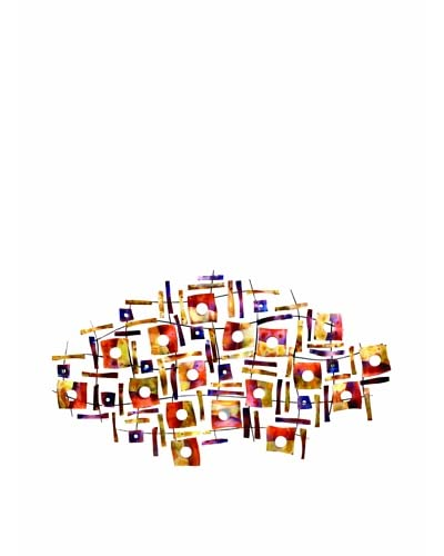 C'Jere by Artisan House Vivacious Tinted and Flame-Treated Wall Sculpture As You See