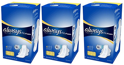 always-infinity-pads-regular-absorbency-with-wings-36-count-pack-of-3