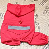 leadingstar 4 Colors New Designed Pet Rain Clothes Dogs Puppy Casual Waterproof Jacket