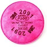 3M 2091 P100 Particulate Filter, 1 Pair Per Pack